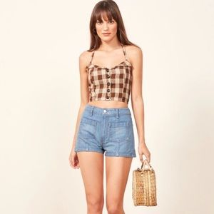 NWT Reformation Connie Top